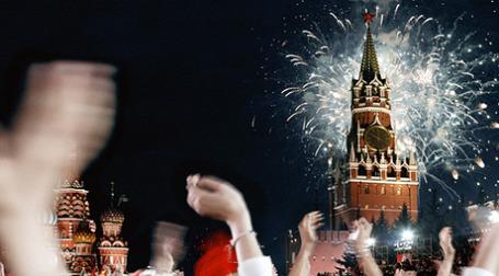 Празднование нового года без сюрпризов не обходится. Фото: РИА Новости