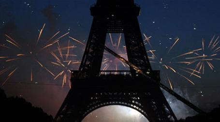Французы менее других пострадали от кризиса, но смотрят в будущее с пессимизмом. Фото: AFP
