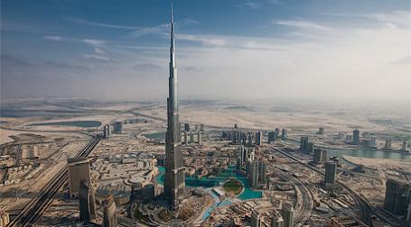 В Дубае сегодня был открыт самый высокий в мире небоскреб Burj Dubai. Фото: sergeidolya.livejournal.com