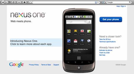 Google представила смартфон Nexus One. Фото: Photo Giddy/flickr.com