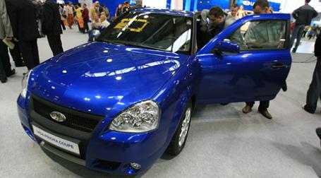 «АвтоВАЗ» начал выпуск новой мелкосерийной модели – Lada Priora Coupe. Фото: BFM.ru