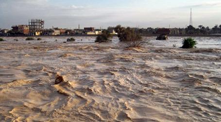 Наводнение в Египте. Фото: AFP