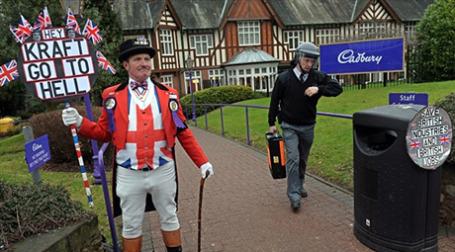 Kraft Foods договорилась о покупке Cadbury за 18,9 млрд долларов. Фото: AFP