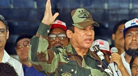 Генерал Норьега в бытность «сильным человеком» Панамы. Фото: AFP