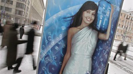 Падение объемов наружной рекламы составило за 2009 год 41%. Фото: AP