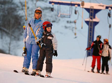 Спрос на услуги горнолыжных комплексов пока удовлетворен примерно на 10%. Фото: РИА Новости