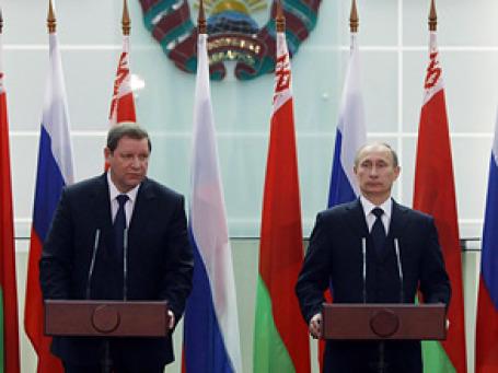 Визит Владимира Путина в Белоруссию оказался богат на громкие заявления. Фото: РИА Новости