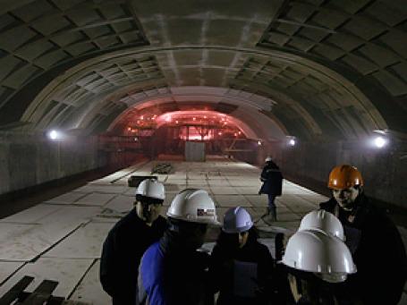 Строящаяся станция Московского метрополитена. Фото: РИА Новости