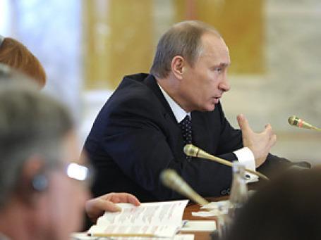 Премьер-министр РФ Владимир Путин озвучил новый пакет антикризисных мер по поддержке малого и среднего бизнеса. Фото: РИА Новости