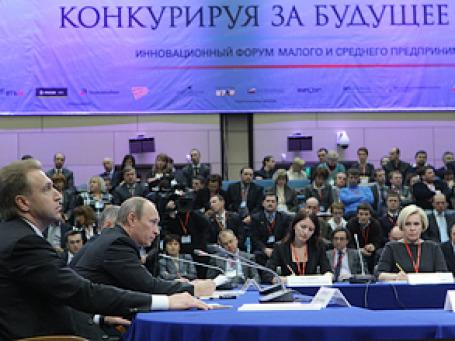 Премьер Владимир Путин пообещал сделать жизнь малого бизнеса проще. Фото: РИА Новости