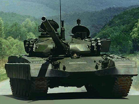 Любимый танк Саддама Хусейна — М-84. Фото: btvt.narod.ru