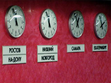 С воскресенья в России станет на 2 часовых пояса меньше. Фото: РИА Новости
