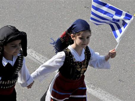 На праздник независимости. Фото: AP