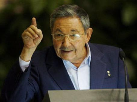 Рауль Кастро: Куба скорее исчезнет с лица земли, чем пойдет на уступки империализму. Фото: AP