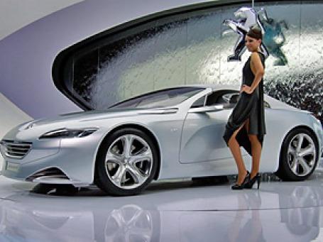 Peugeot WZX, представленный на Женевском автосалоне 2010. Фото: salon-auto.ch