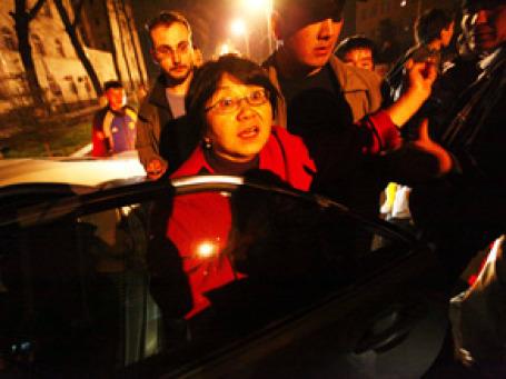 Роза Отунбаева, которую Владимир Путин признал главой правительства Киргизии. Фото: РИА Новости