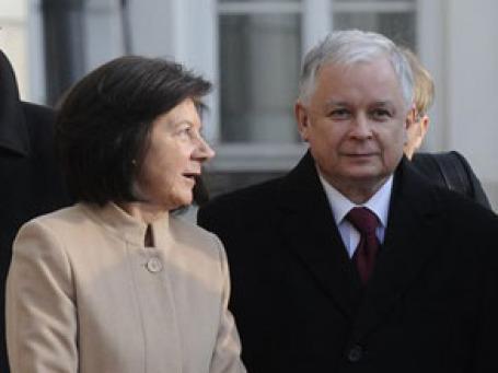 Президент Польши Лех Качинский погиб в авиакатастрофе вместе с супругой. Фото: AP