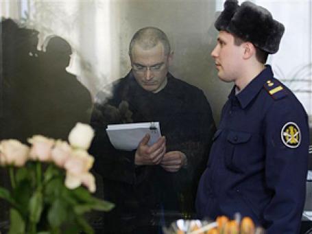 Михаил Ходорковский давал показания на протяжении нескольких часов с перерывом на обед. Фото: AP