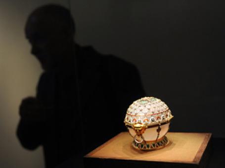 Владелица особняка на Рублевке заявила в милицию о краже яйца Фаберже стоимостью полмиллиона долларов.. Фото: РИА Новости