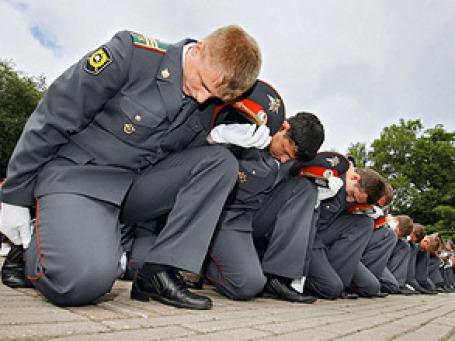 Милиционеров могут начать жестче карать за неисполнение приказов и критику. Фото: РИА Новости
