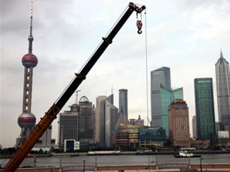 Китайский ВВП в первом квартале 2010 года вырос на 11,9% к аналогичному показателю прошлого года. Фото: AP
