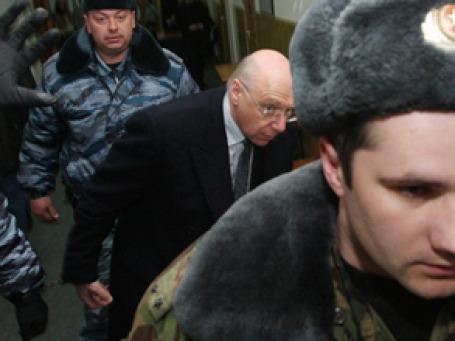 Басманный суд Москвы отказался избрать меру пресечения в виде залога для  экс-владельца банка ВЕФК Александра Гительсона. Фото: РИА Новости