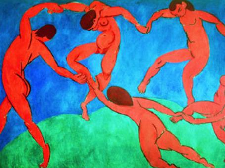Картина А. Матисса «Танец», написанная по заказу Сергея Щукина, оказала влияние на всю живопись ХХ века.