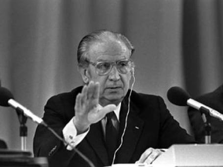 Хуан Антонио Самаранч на Олимпиаде в Москве, 1980 год. Фото: AP