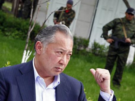 Подозрения в причастности России к перевороту в Киргизии превращаются в обвинения. Фото: РИА Новости