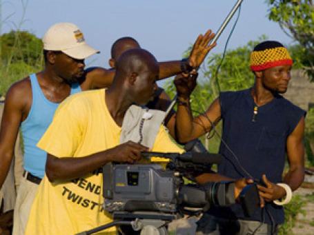 Съемки фильма в Нигерии. Фото: thisisnollywood.com