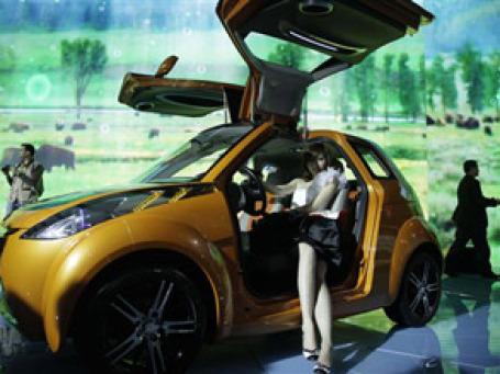 Модель Gelly iG, представленная на Пекинском автошоу, станет прототипом новой модели. Фото: AP