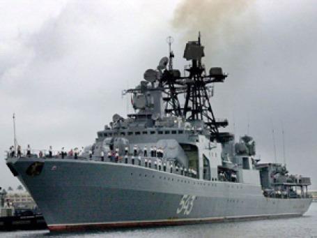 Моряки противолодочного корабля «Маршал Шапошников» успешно провели операцию по освобождению от пиратов российского судна. Фото: blackseafleet-21.com
