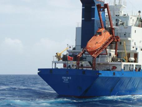 Сухогруз Arctic Sea  из-за истории с пиратами доплыл до Финляндии только к концу прошлого года. Фото: РИА Новости