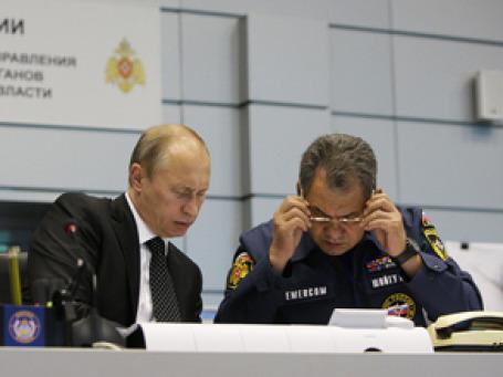 На место трагедии в Кемеровскую область прилетел премьер Владимир Путин. Фото: РИА Новости