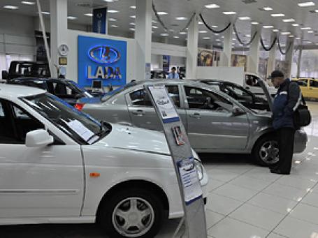 В апреле в России было продано 163,299 тыс. новых автомобилей, что на 20% больше, чем год назад. Фото: Митя Алешковский/BFM.ru