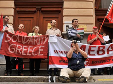 Общенациональные забастовки и протесты могут начаться и в других странах ЕС. Фото: АР