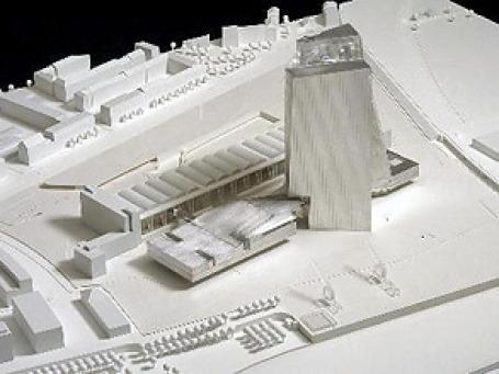 Сегодня глава банка Жан-Клод Трише дает старт строительству нового здания ЕЦБ во Франкфурте. Фото: AP