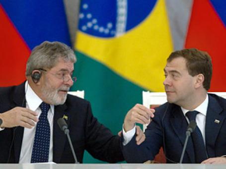 Президенты России и Бразилии разошлись в оценке того, насколько успешным будет бразильское посредничество в решении иранской проблемы. Время показало: прав был Лула да Силва. Фото: РИА Новости