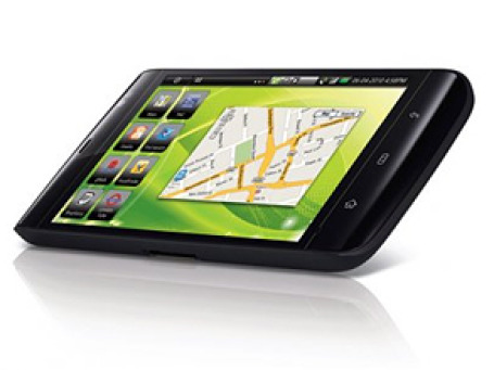 Dell выпустила планшетный компьютер-телефон Streak. Фото: news.ferra.ru