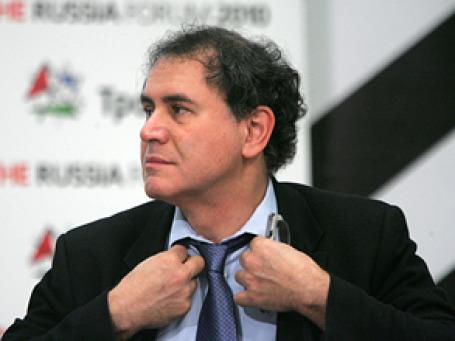 Профессор экономики Нью-йоркского университета Нуриэль Рубини. Фото: Григорий Собченко/BFM.ru
