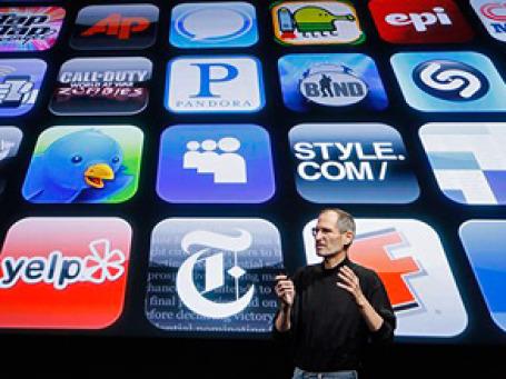 Исполнительный директор корпорации Apple Стив Джобс принял участие в дискуссии на ежегодной конференции All Things Digita. Фото: AP