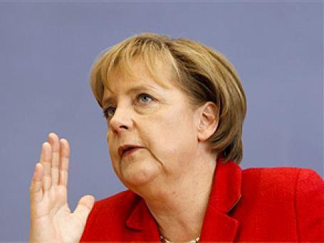 Канцлер ФРГ Ангела Меркель планирует сэкономить 80 млрд евро до 2014 года. Фото: AP