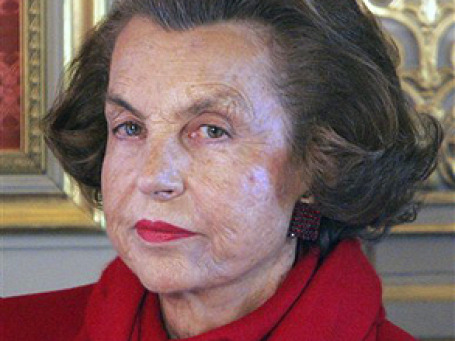Наследница империи L'Oreal Лилиан Бетанкур обладает состоянием  в 17 миллиардов евро. Фото: AP