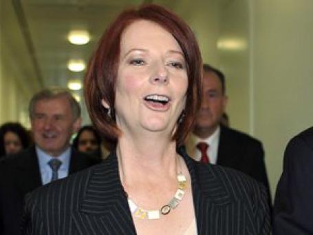 Правящая Лейбористская партия Австралии избрала в четверг Джулию Гиллард новым премьер-министром страны. Фото: AP