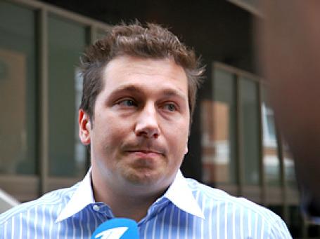 Бывший глава компании «Евросеть» Евгений Чичваркин не признает вину своих подчиненных, а также полностью отрицает свою причастность к делу о похищении Власкина. Фото: РИА Новости