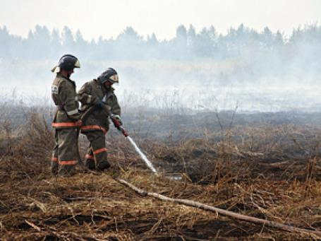 Торфяные и лесные пожары уронили покупательских спрос на загородную недвижимость  на востоке Подмосковья. Фото: РИА Новости