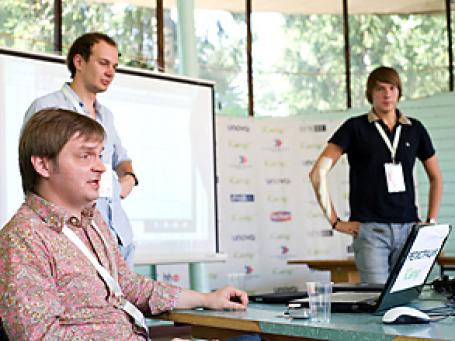 За 3 дня было сделано более 100 докладов и презентаций. Фото: www.icamp.ru