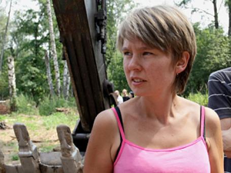 Хрупкую девушку — Евгению Чирикову — сделали врагом № 1 государства. Фото: РИА Новости