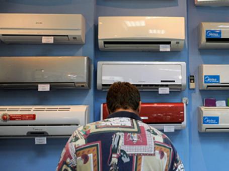 Продажи кондиционеров и вентиляторов в кредит превысили показатели прошлого года в несколько раз. Фото: РИА Новости