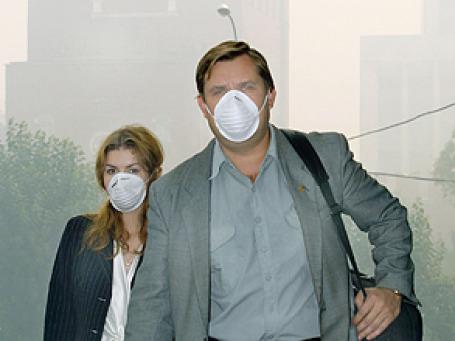 4 августа побило все рекорды по уровню загрязнения воздуха. Фото: ИТАР-ТАСС